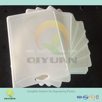 Cleaning chemical resistant HDPE cutting board/ plastic chopping block