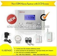 Auto Usage Advanced alarm with IPHONE&ANDROID app and mutifunction language --YL-007M2C