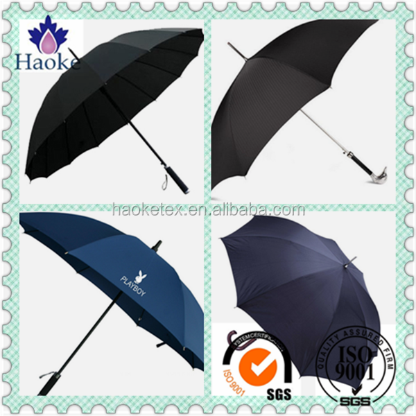 pa coated waterproof 240T polyester pongee fabric for umbrella