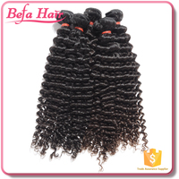 Befa hair Highest quality human hair weft 8-30 inch Indian hair extension
