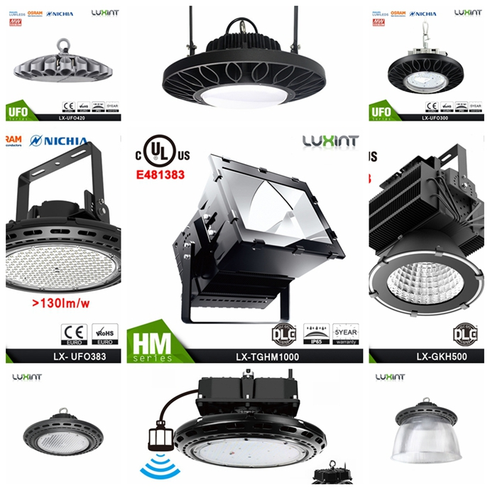 100w 120W COB ul led high bay light for car parking lots lighting