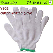 high quality cheap cotton knitted winter glove for handicap