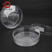 Crystal PS injected Octagonal plastic packing box