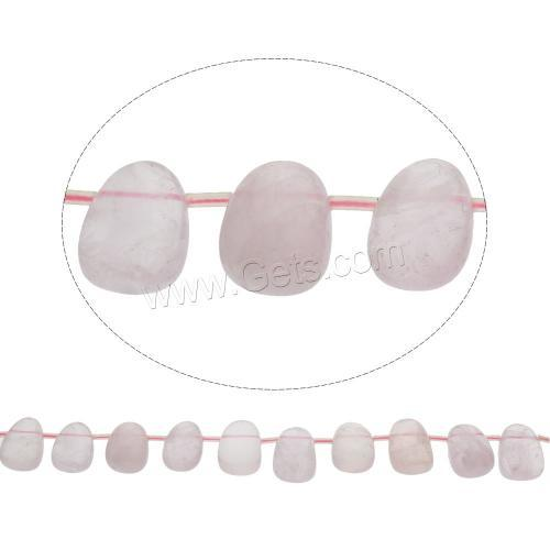 18x25x14mm 1166833 plastic beads in bulk for wholesale Natural Rose quartz crystal