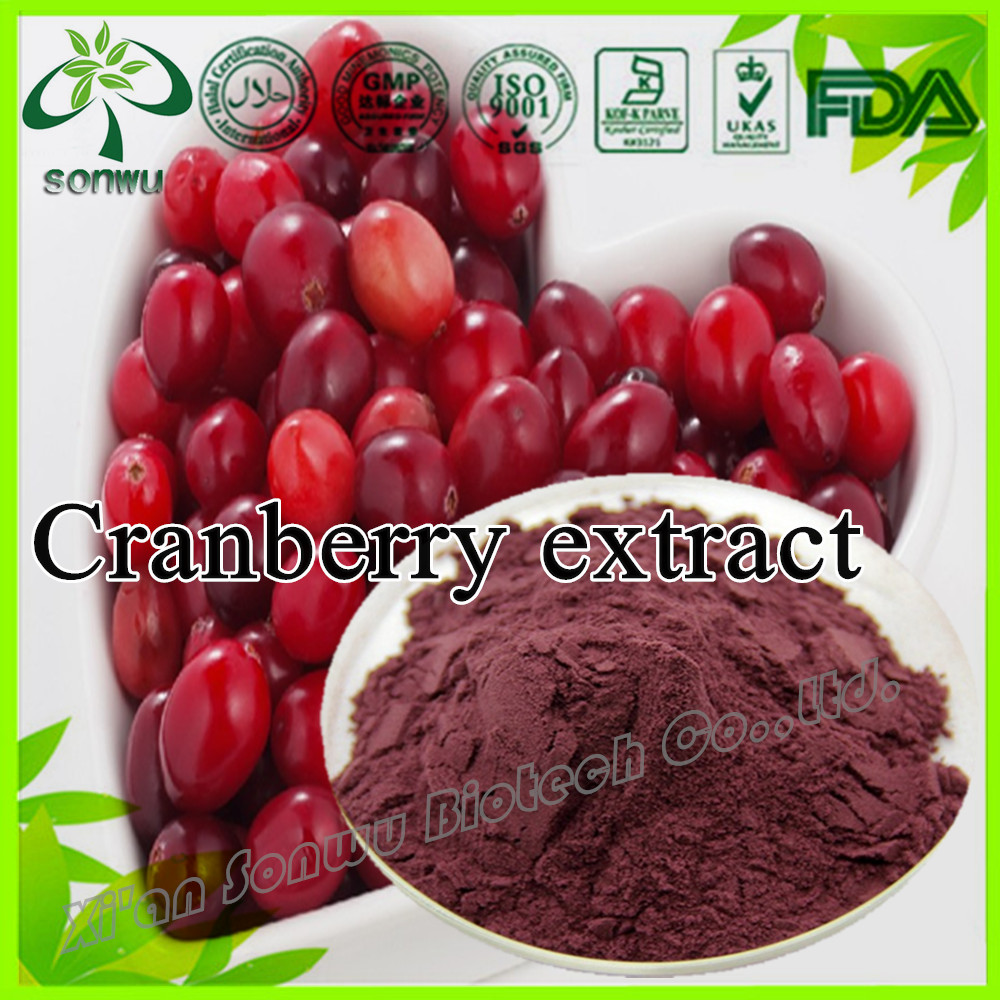 Natural Cranberry Extract/Cranberry Extract Powder/ Proanthocyanidin