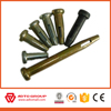 Concrete Forming accessories Standard Pin Straight Wedge Curved Wedge Flathead Pin Combination Filler Pin with Head