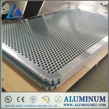 3003 h14 5mm thick perforated aluminum metal sheet price