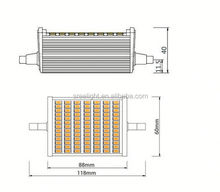 SREE LED light 30W R7S 3000LM 118mm Dimmable warranty certificate led sample