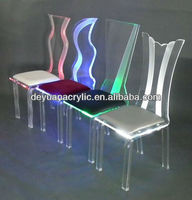 Custom Clear Acrylic LED Furniture