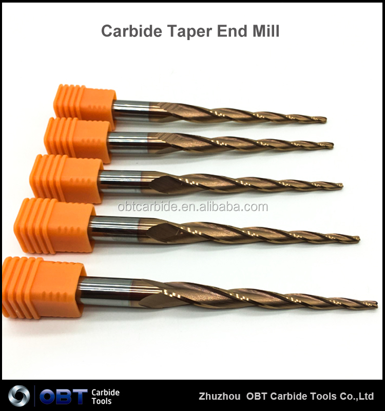 Carbide Cnc Aluminum Processing Endmill Cutting Tools