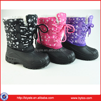 Top Quality Fur Girl kids snow boots