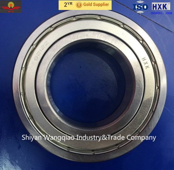 Deep groove ball bearing 55x100 6211RS for oil refinery and power station