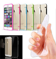 Ultra Thin Soft TPU Gel Silicone Skin Cover For iPhone 6 Plus
