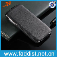 2013 Mobile phone leather cover for s4 samsung i9500 case