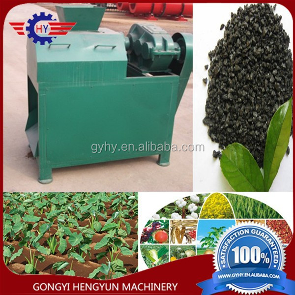 cow dung organic fertilizer making machine/live waste fertilizer granulator machine