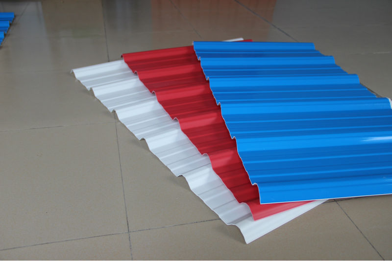 Pvc corrugated tiles plastic rubber roof sheets fire prevention waterpoof/factory building roof covering
