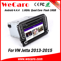 Wecaro WC-VJ8011 Android 4.4.4 car multimedia system double din for vw jetta car multimedia audio system GPS 2013 2014 2015