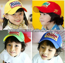 2013 Hot Ruler Embroidery Visor Children Sun Hat