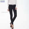 2016 women's new autumn summer skinny jeans tight slimmed black spandex long pants