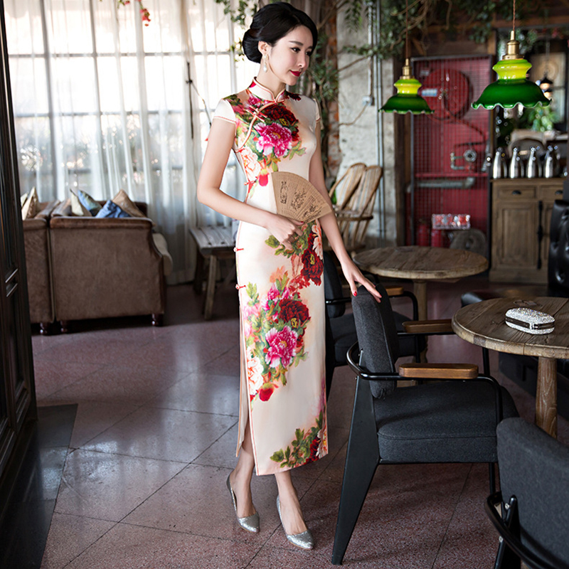 Wholesales Clothing for Woman Flower China Cheongsam