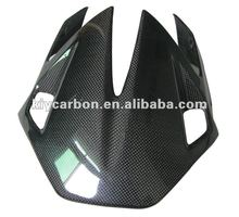 Carbon motorcycle windshield for Aprilia