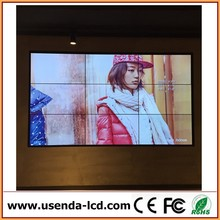"46"" 55"" interactive touch screen video wall LCD video wall with removable lcd tv wall mount"