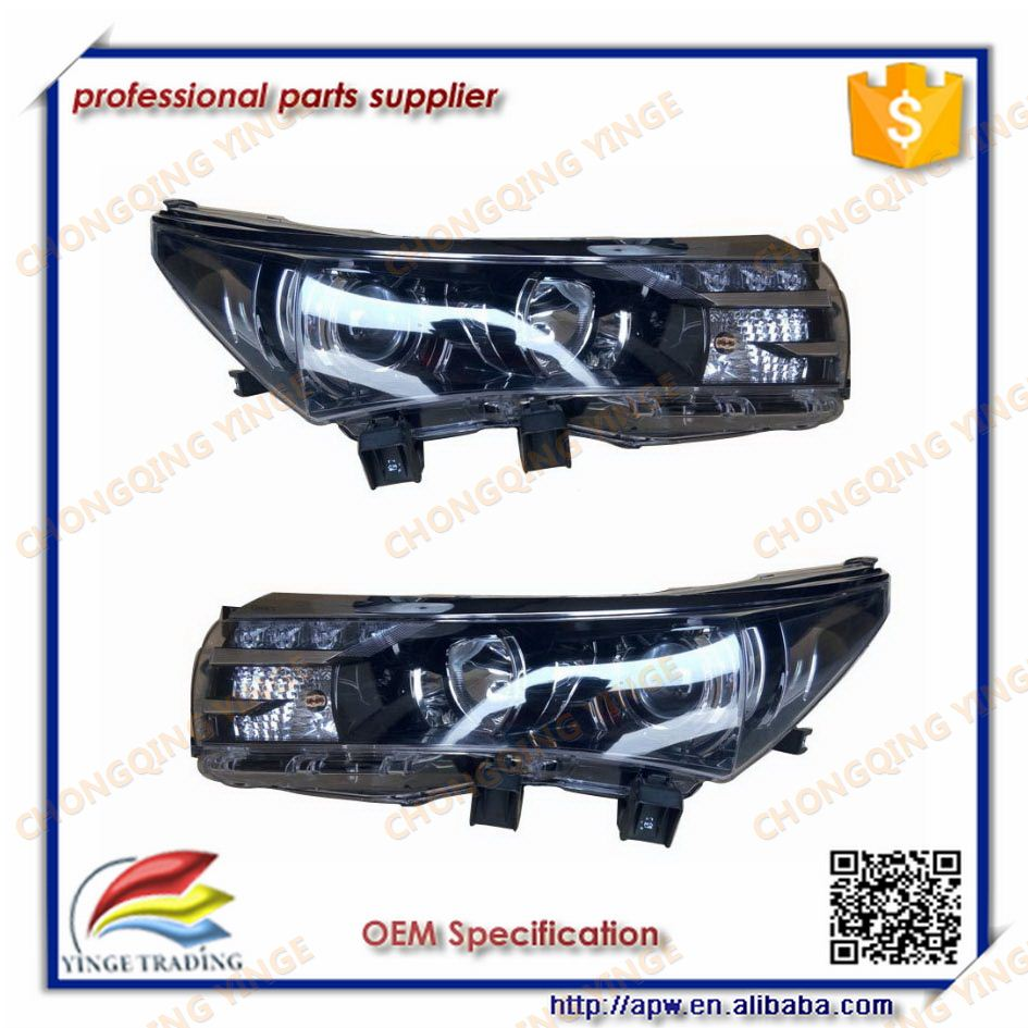 Head Lamp For Toyota Corolla Car 2014 Front Lamp Reasonable Price