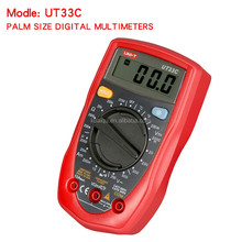 Digital Multimeters UNI-T UT33C Professional Electrical Handheld Tester LCR Meter Ammeter