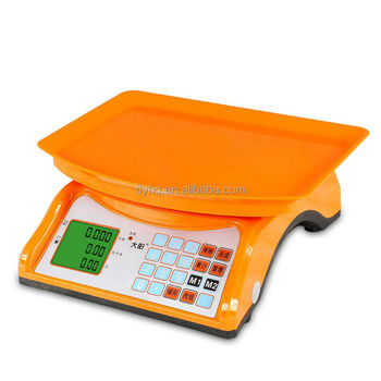 Electronic price computing scale DY-130