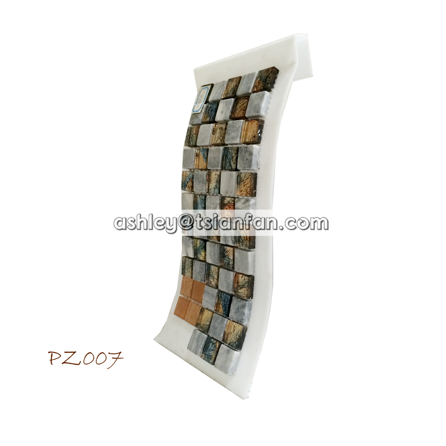 tsianfan mosaic tiles display frame/plastic mosaic sample frame PZ007