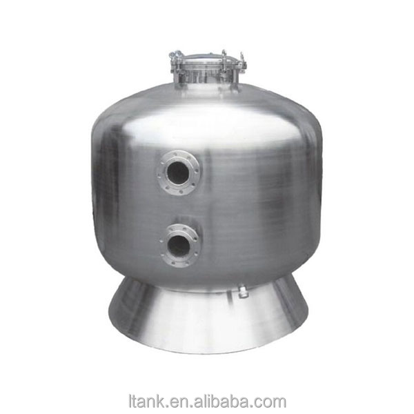 stainless steel 304 SS sand filter carbon filter