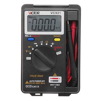 Integrated Personal Handheld Pocket Mini Digital Multimeter, Auto Range Data Hold Function