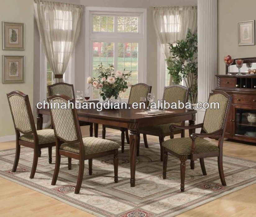 HDTS069 antique french provincial dining room sets
