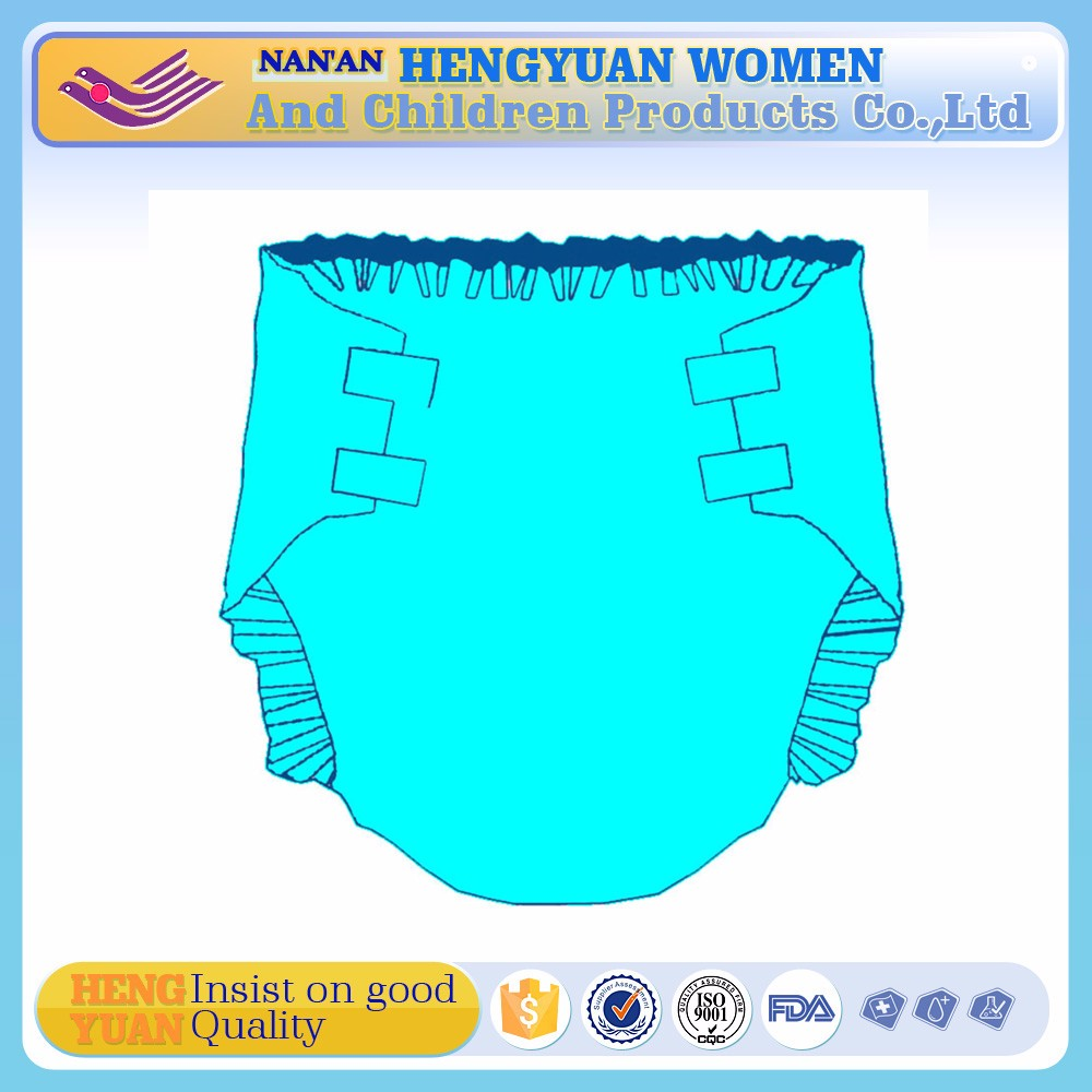 Non-woven Fabric Disposable Adult Diaper with Japanese SAP
