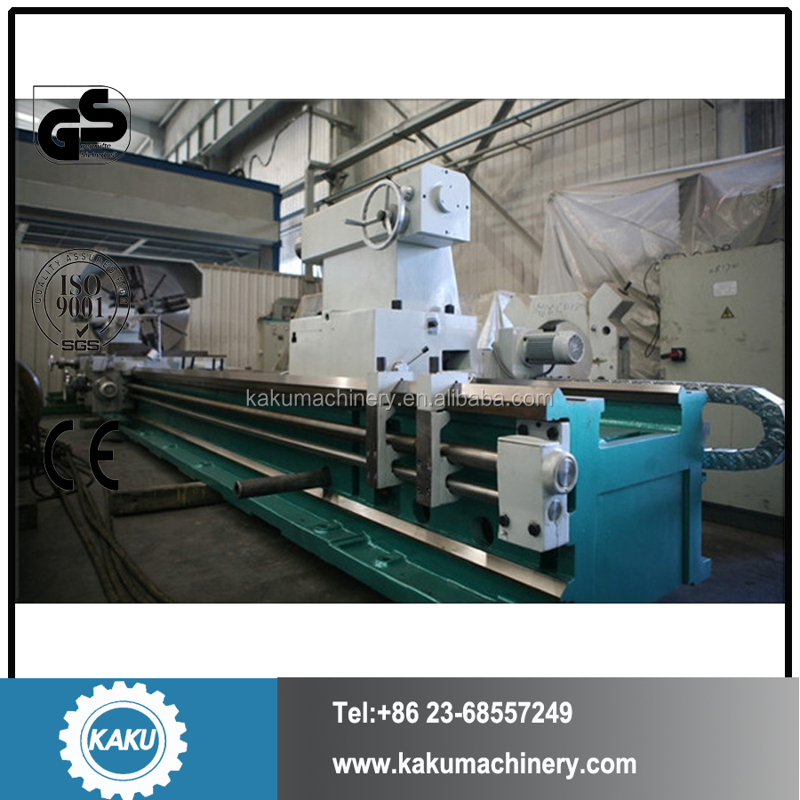 CF-H series Large Hollow Spinde Heavy Horizontal Turning Universal Manual Lathe Machine with load 18 tons