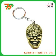 Wholesale Metal Souvenir Custom Keychain Manufacturers In China, Make Your Own Logo Metal 3D Key Chain Parts