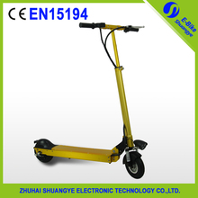 Adult folding self balancing two wheel electric scooter