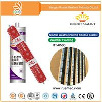 Fast Curing General Pur pose 100% Acetoxy Silicone Sealant Permanently Flexible