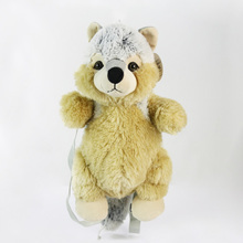 Custom Wholesale Best Made Stuffed animal toy plush dog Tether Pole for Dog Toy