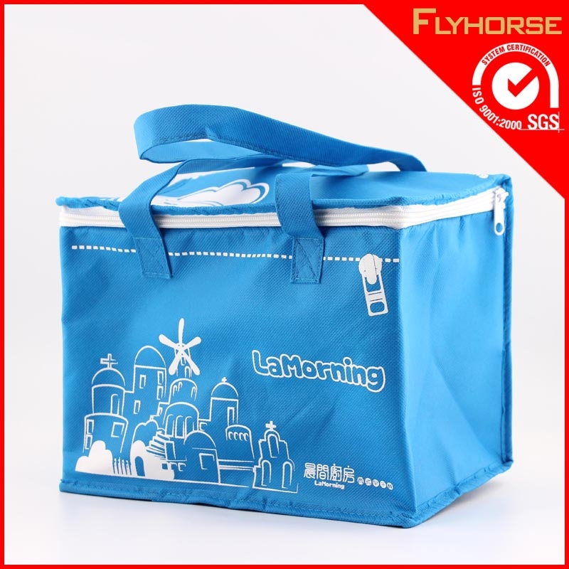 Wholesale cheapest non woven fabric cooler bag