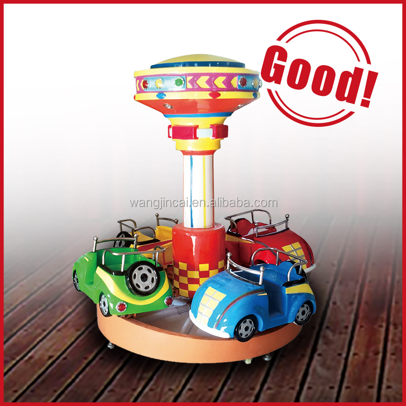 hot alibaba amusement kiddie carousel ride mini train