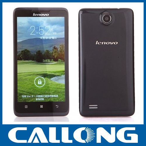New cheap original Lenovo A766 5inch MTK6589,Cortex A7 quad core, 1.2GHz Android 4.2 dual sim mobile phone