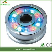 High quality 6W-18W led water fountain ip68 waterproof underwater pond light