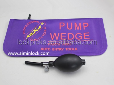 Professional KLOM air pump wedge bag purple auto entry tools part # A065