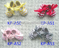Wholesale Chevron baby shoes,zebra baby shoes IN STOCK ( NO MOQ)