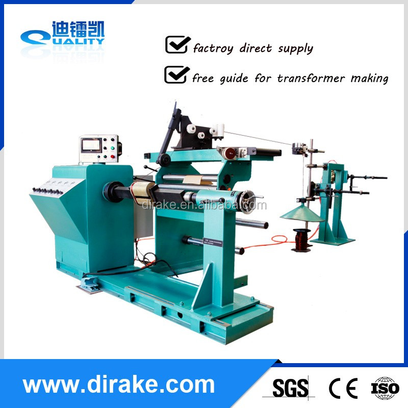 CE ISO9001 Alibaba trade assurance GRX-800 automatic transformer electric motor coil winding machine