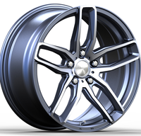 Guangzhou factory price rims 16 17 18 20 inch wheels fit for Universal HOT SALES alloy wheels for car