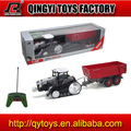 1:28 plastic rc toy tractor