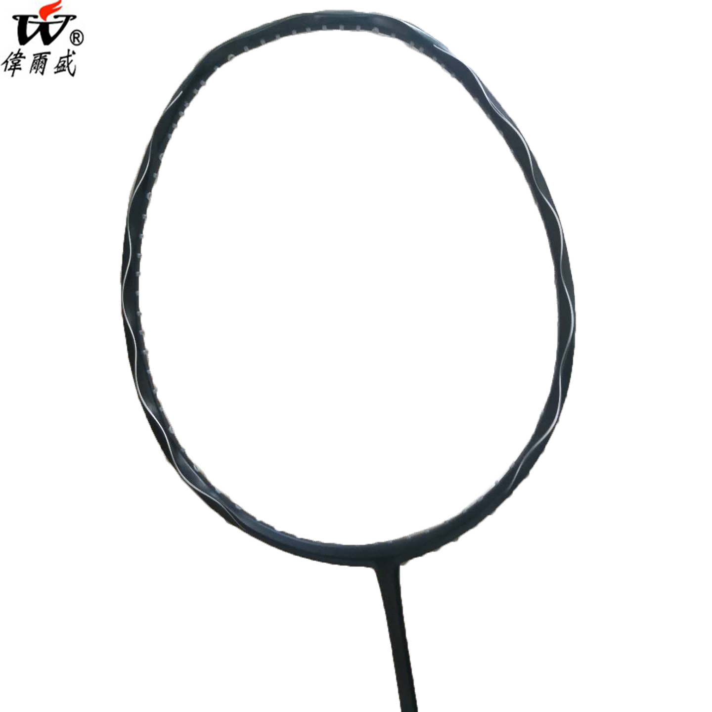 2018 Professional Carbon Spiral Badminton Racket Similar to Japan Inferno