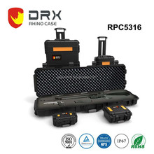 IP67 Waterproof hard equipment case plastic carrying rifle case